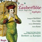 Mozart: Die Zauberflöte - Magic Flute (Highlights) [Regis Records]