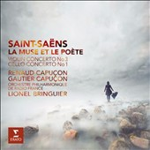 Saint-Saens: Violin Concerto no 3; Cello Concerto no 1 'La Muse et le Poete' / Renaud Capucon, violin; Gautier Capucon, cello