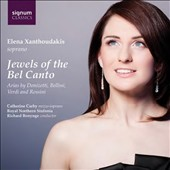 Jewels of the Bel Canto - arias by Donizetti, Bellini, Verdi & Rossini / Elena Xanthoudakis, soprano