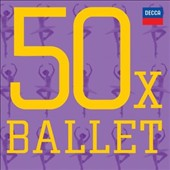 50 x Ballet - music from Swan Lake; Sleeping Beauty; The Nutcracker; Coppélia; Giselle; Les Sylphides; Don Quixote; Romeo & Juliet et al. [3 CDs]
