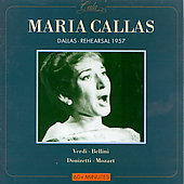 Maria Callas - 1957 Dallas Rehearsal / Rescigno, Dallas SO