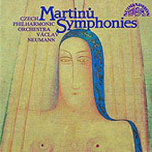 Martinu: Complete Symphonies / Neumann, Czech Philharmonic