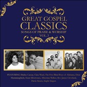 Various Artists: Great Gospel Classics: Songs of Praise & Worship, Vol. 3