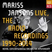 Mariss Jansons Live: The Radio Recordings, 1990-2014 / Royal Concertgebouw Orch., Amsterdam [12 CDs, 1 DVD]