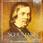 The Schumann Edition - orchestral music & concertos; chamber works; piano pieces; lieder; choral music / various artists [45 CDs]