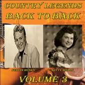 Ferlin Husky/Kitty Wells: Country Legends Back to Back, Vol. 3 [5/13] *