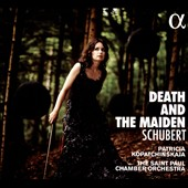 Schubert: Quartet K.810 'Death and the Maiden'; Augustus Normiger (1560-1613): Toden Tanz; Dowland: Seaven Teares; Gesualdo: Madrigal; Kurtag: Ligatura-Message / Patricia Kopatchinskaja, violin; St. Paul Chamber Orchestra