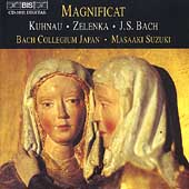 Kuhnau, Zelenka, Bach: Magnificats / Suzuki, Persson, et al