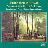 Kuhlau: Sonatas for Flute and Piano / B. Larsen, S. Larsen