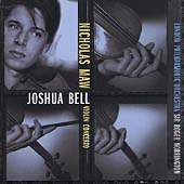 Maw: Violin Concerto / Joshua Bell, Roger Norrington, et al