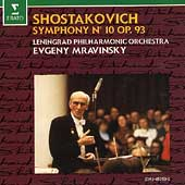Shostakovich: Symphony no 12 / Mravinsky, Leningrad Phil