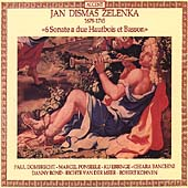 Zelenka: Six Trio Sonatas / Dombrecht, Ponseele, Ebbinge