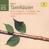Trio - Wagner: Tannh&auml;user / Gerdes, Nilsson, Adam, et al