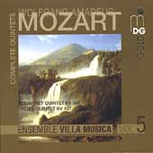 Mozart: Complete Quintets Vol 5 / Ensemble Villa Musica