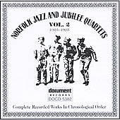 Norfolk Jazz & Jubilee Quartet: Complete Recorded Works, Vol. 2 (1923-1925)
