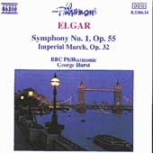 Elgar: Symphony no 1, etc / Hurst, BBC Philharmonic