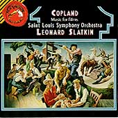 Copland: Music for Films / Slatkin, Saint Louis Symphony