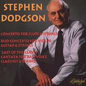 Dodgson: Flute Concerto, Duo Concerto, Last of the Leaves