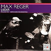 Reger: Lieder / Frauke May, Bernhard Renzikowsi