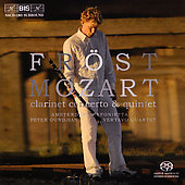 Mozart: Clarinet Concerto, Clarinet Quintet / Martin Fr&#246;st
