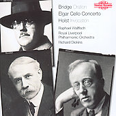 Bridge: Oration;  Elgar: Cello Cto;  etc/ Wallfisch, Dickins