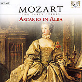 Mozart - The Early Operas - Ascanio in Alba