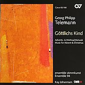 Music for Advent and Christmas - Telemann / Ensemble 94