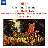 Orff: Carmina Burana / Rutter, Alsop, Bournemouth SO, et al