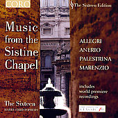 The Sixteen Edition - Music from the Sistine Chapel