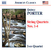 Quincy Porter: String Quartets no 1-4 / Ives Quartet