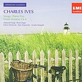 American Classics - Ives: Songs, Piano Trio, Violin Sonatas no 2 & 4 / Voigt, Zeger, Dicterow, Stepansky, Margalit