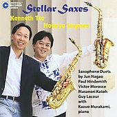 Stellar Saxes - Hindemith, Nagao, Katoh, Lacour, Morosco / Tse, Sugawa, Murakami
