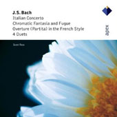 J.S. Bach: Italian Concerto; Chromatic Fantasia; Overture in the French Style, et al. / Scott Ross, harpsichord