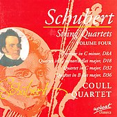 Schubert: String Quartets, Vol. 4