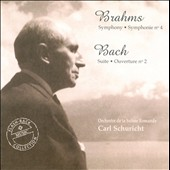 Brahms: Symphony No. 4; Bach: Overture No. 2