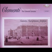 Clementi: The Complete Sonatas, Vol. 5 / Costantino Mastroprimiano, fortepiano