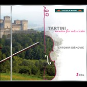 Giuseppe Tartini: Sonatas for Violin Solo, Vol. 1 / Crtomir Siskovic, violin