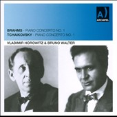Brahms, Tchaikovsky: Piano Concertos No. 1 / Vladimir Horowitz, piano; Bruno Walter