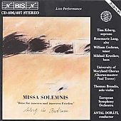 Beethoven: Missa Solemnis / Dorati, Kiberg, European SO