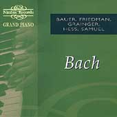 Grand Piano - Bach / Bauer, Friedman, Grainger, Hess, Samuel
