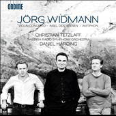 Jorg Widmann: Violin Concerto; Insel der Sirenen; Antiphon / Christian Tetzlaff, violin