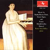 Park, Bigot, Mendelssohn-Hensel / Betty Ann Miller
