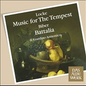 Matthew Locke: Music for The Tempest; von Biber: Battalia / Il Giardino Armonico