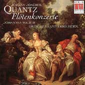 Quantz: Fl&ouml;tenkonzerte / Walter, Dresden Chamber Soloists