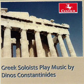 Greek Soloists Play Music by Dinos Constantinides (b.1929) / Louisiana Sinfonietta