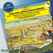 Copland: Appalachian Spring; Barber: Adagio for Strings; Bernstein: Candide Overture; Schuman: American Festival Overture / Los Angeles PO, Bernstein