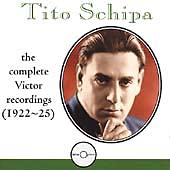 Tito Schipa - The Complete Victor Recordings (1922-25)