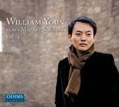Mozart: Piano Sonatas, Vol. 4 - Nos. 3, 5, 13 & 18 / William Youn, piano