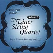 Léner String Quartet - Complete Recordings Vol 2