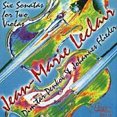 Leclair: Six Sonatas for Two Violas / Penkov, Flieder